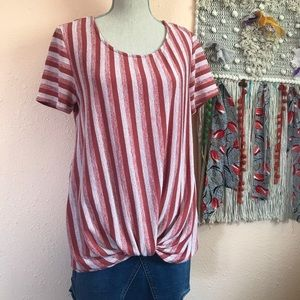 🌻 W5 Anthropologie Striped Top